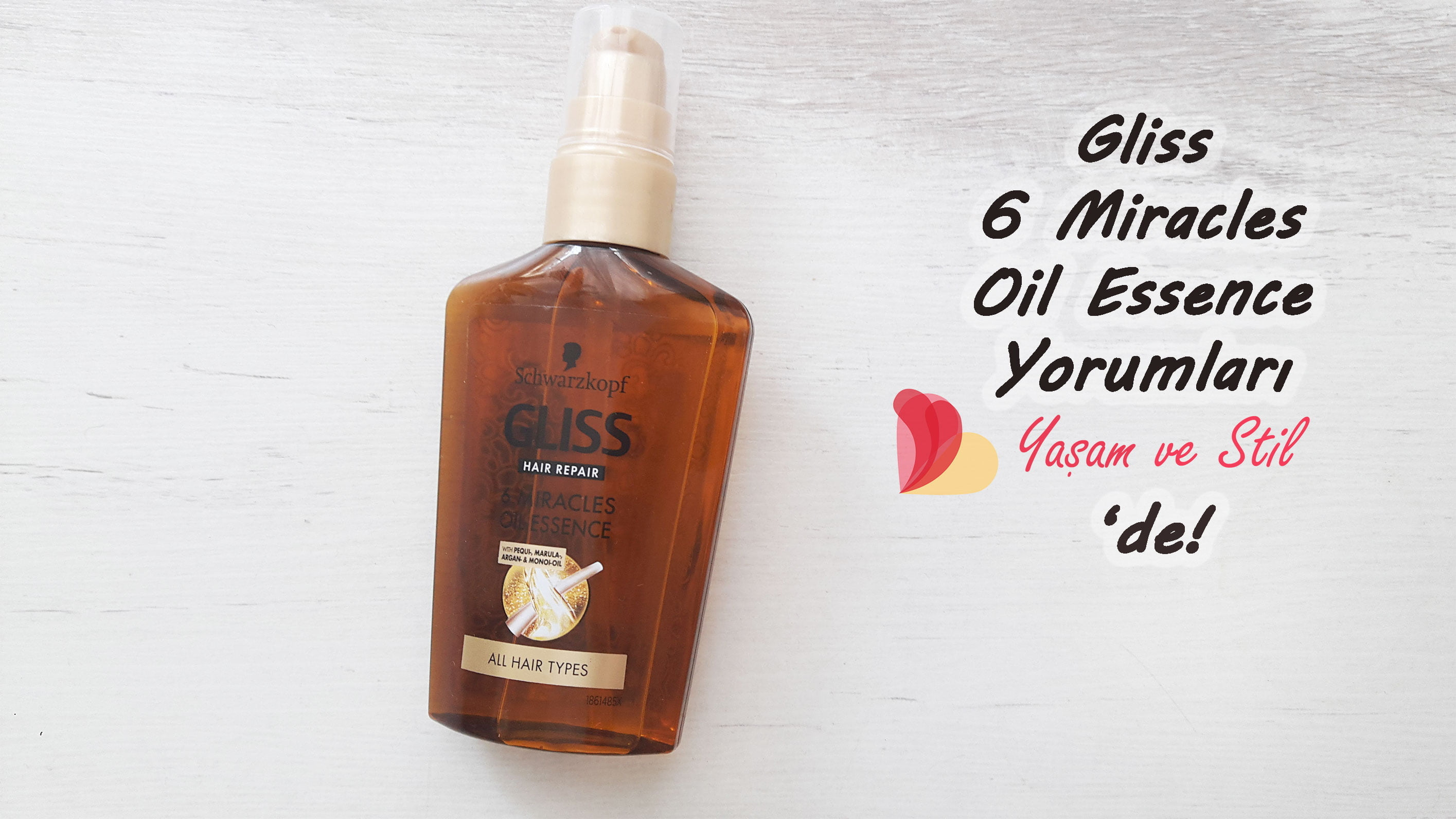 Gliss 6 Miracles Oil Essence Deneyimlerim