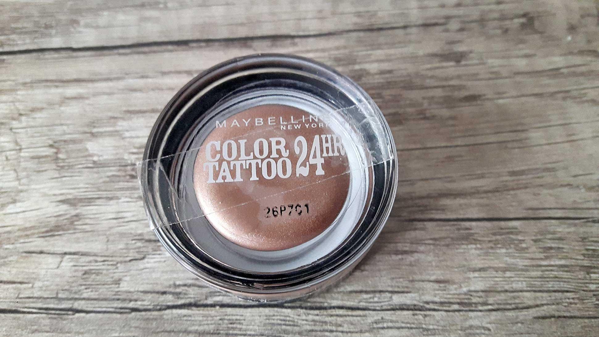 Maybelline Color Tatto Far On and On Bronze Kullanıcı Yorumları