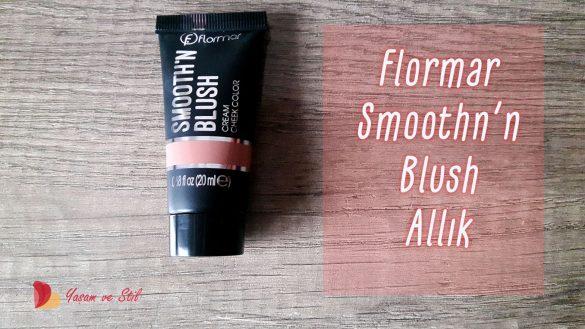 flormar smoothn blush allık
