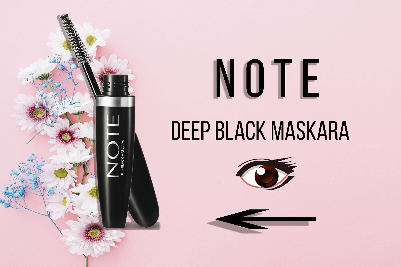 Note Deep Black Maskara Kullanıcı Yorumları