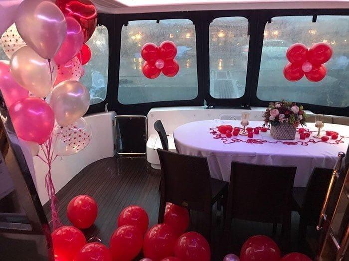 Teknede Muhteşem Bir Doğum Günü